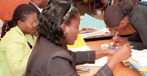 Des enseignants camerounais