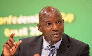 Anthony Baffoe, membre de la CAF