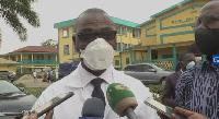 Pierre Joseph Fouda, directeur général de l'Hôpital Central de Yaoundé