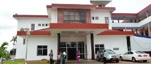 L'hôpital a été construit depuis plusieurs années.