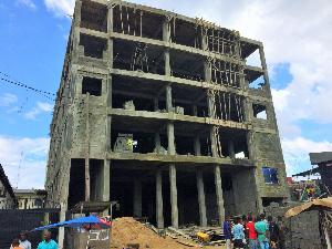 Immeuble éffondré à Douala