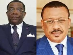 Atangana Kouna et Alain Mebe Ngo'o
