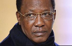 Le président Idriss Deby