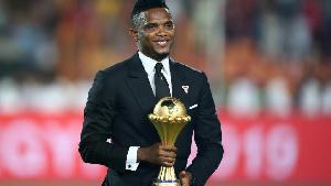 Samuel Eto'o, l'international camerounais