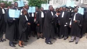 Les avocats dans la zone anglophone du Cameroun