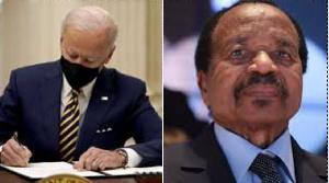 Joe Biden et Paul Biya