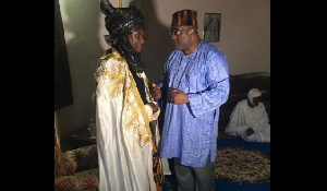 'J'ai été reçu par le nouveau Lamido à Garoua El Rachidine Ibrahim'