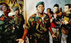 Le Général Donatien Mahele Lieko Bokungu, Chef d'Etat-Major Général des Forces Armées Zaïroises
