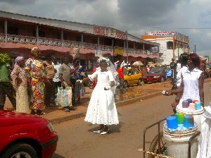 Célébration d'un mariage au Cameroun