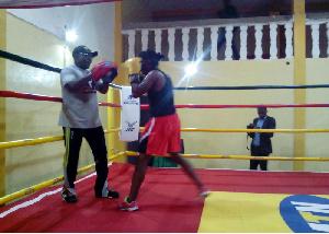 Nouveau ring de boxe installé à Douala