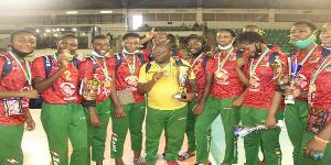 Les U-18 Filles de l'équipe nationale de Volley-ball