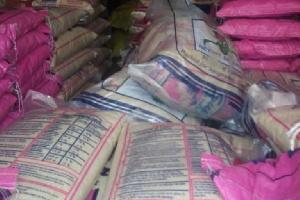 Du riz importé
