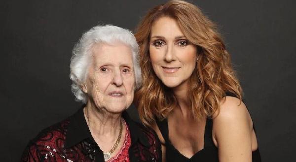 La Maman de Céline Dion est décédée à 92 ans