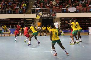 Hand Cameroun Vs Kenya