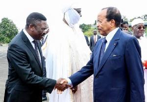 Paul Biya et Ferdinand Ngoh Ngoh