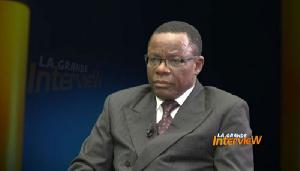 Maurice Kamto parle