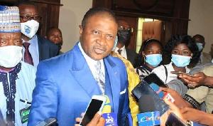Jean Ernest Massena Ngalle Bibehe, ministre des Transports