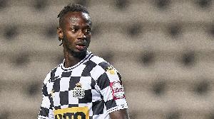 L'attaquant de 27 ans est le fils du grand joueur gambien Alhagi Momodou Njie