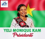 Monique Yeli Kam est la première femme à avoir déposé sa candidature