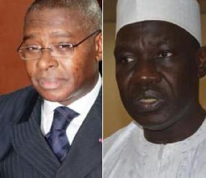 Séraphin  Magloire  Fouda  et Alamine Ousmane Mey