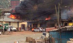 Les habitants de la ville ont subi les coups de vent des séparatistes