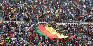 Les supporters camerounais