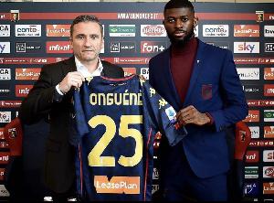 Jérôme Onguéné a été officiellement présenté à la presse par son nouveau club