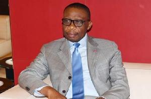 André Magnus Ekoumou, l'ambassadeur du Cameroun à Paris