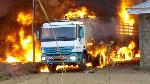 Le feu a été maitrisé par des téméraires qui se sont attelés à y verser des sceaux de sable