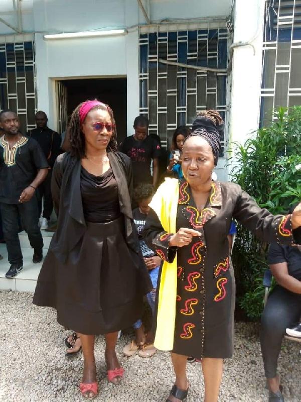 Kah Walla et Michele Ndoki