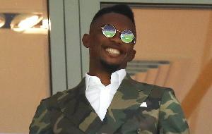 Samue Eto'o estime être le meilleur joueur africain
