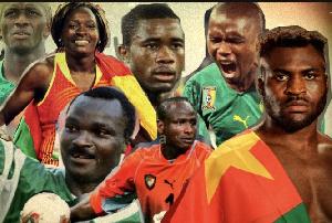 Des sportifs camerounais