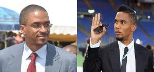 Franck Biya et Samuel Eto'o