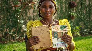 Naomi Adamu di Chibok girl wey dare Boko Haram
