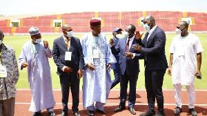 Mission d'inspection de la CAF au stade de Garoua