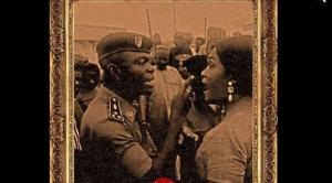 Une photo de Nourane et du policier