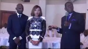 Feu Victor Fotso au mariage de sa fille Laure et de Geremy Njitap