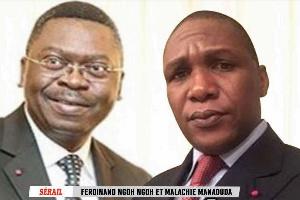 Le SG Ngoh Ngoh et le Minsanté Malachie Manaouda