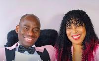 Le pasteur Makosso et sa femme