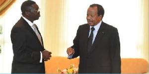 Paul Biya et Ngoh Ngoh