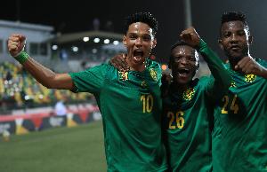 Etienne Eto'o participe à la CAN U20