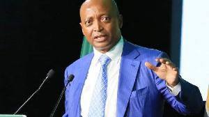 Le Président de la CAF Motsepe