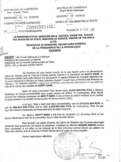 Affaire_Essim%C3%A9_Meny%C3%A91 Sérail: le jour où Laurent Esso a sauvé la vie à Franck Biya [Retro]