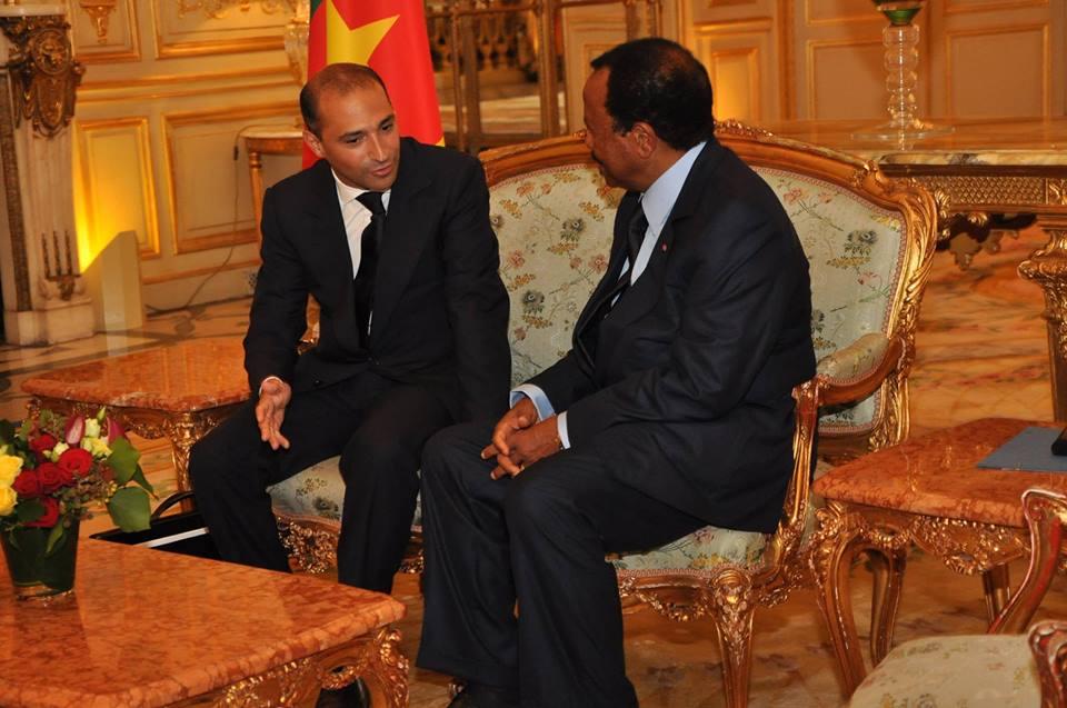Rencontre Biya Hollande