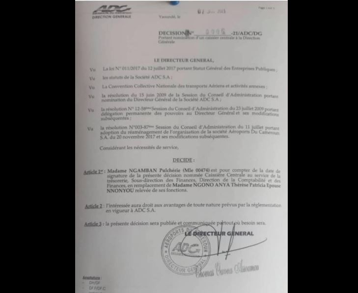 Caissiere_Aeroport_Yaounde