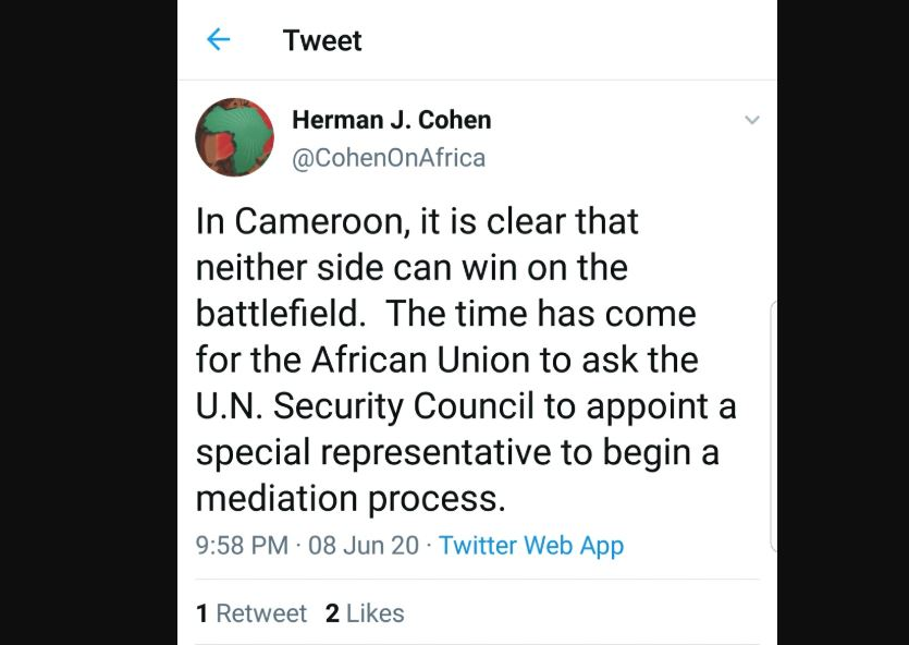 Herman_Cohen_Crise_Anglophone