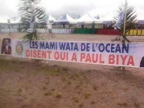Insolite_Campagne_Biya1 Etoudi 2018: Voici les insolites de la campagne de Biya [Photos]