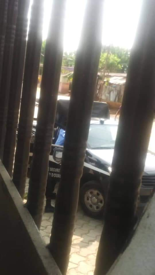 Maison_Dzongang_Police1 URGENT: la police encercle le domicile de Albert Dzongang où se trouve Kamto