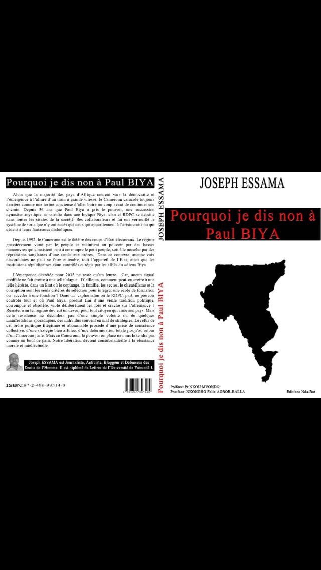 Paul-Biya_je_dis_non_biya Election 2018: un défenseur des droits humains déshabille Paul Biya, voici comment!