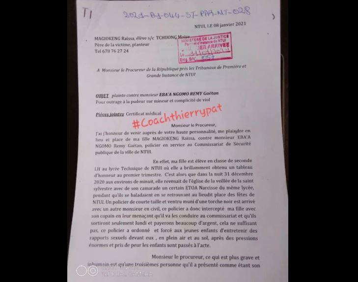 Policier_Viole_Jeune_Fille_Ntui